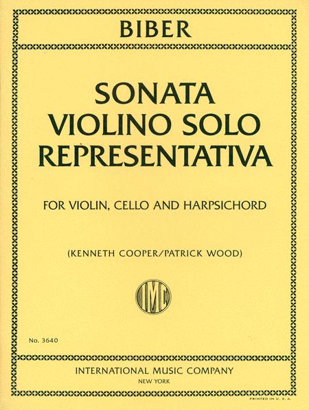 Sonata Violino Solo Representativa