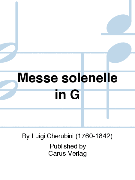 Messe solenelle in G