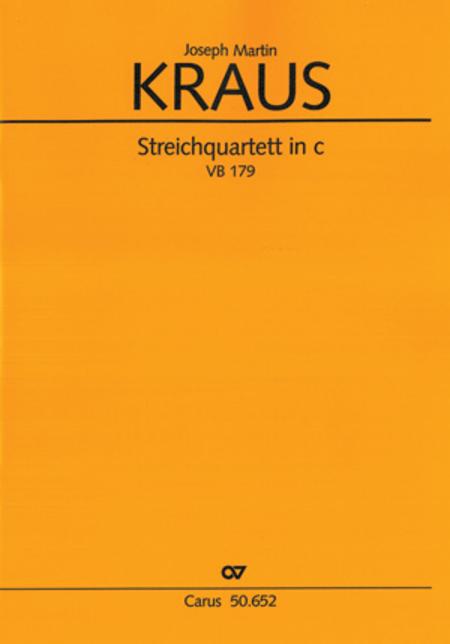 Streichquartett in c