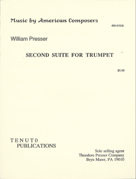 Second Suite for Trumpet