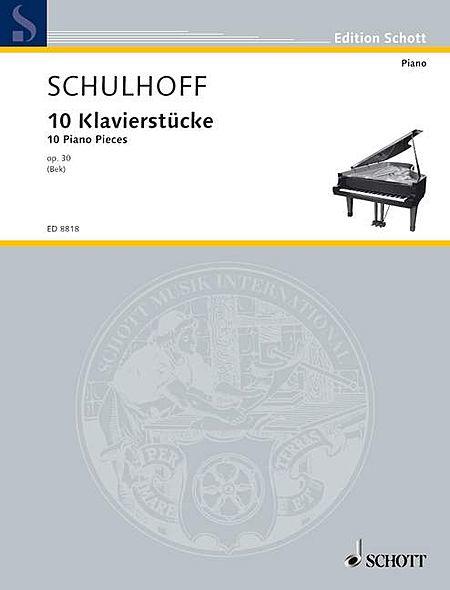 10 Piano Pieces, Op. 30