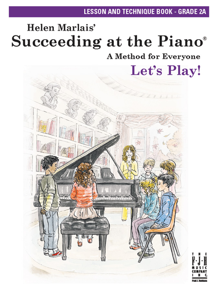Succeeding at the Piano! , Lesson & Technique Book - Grade 2A (without CD)