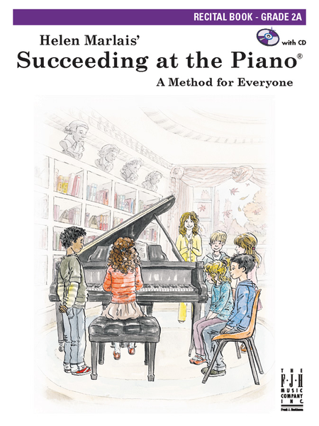 Succeeding at the Piano Recital Book (with CD) - Grade 2A