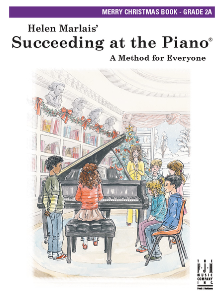 Succeeding at the Piano! , Merry Christmas Grade 2A