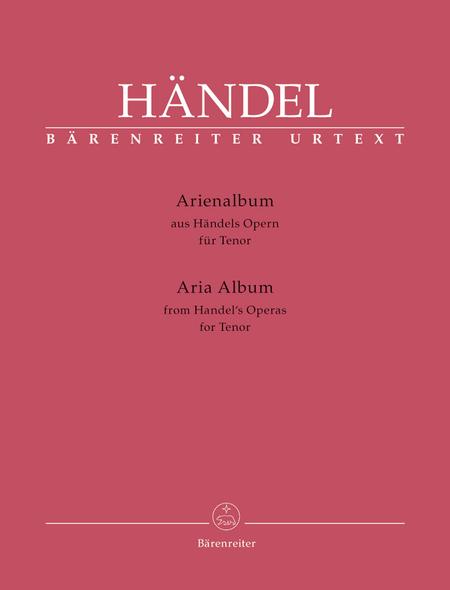 Arienalbum aus Handels Opern fur Tenor