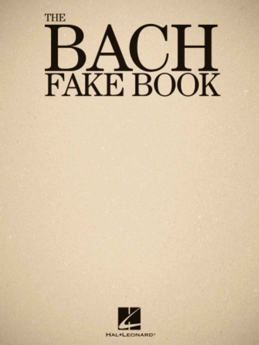 The Bach Fake Book