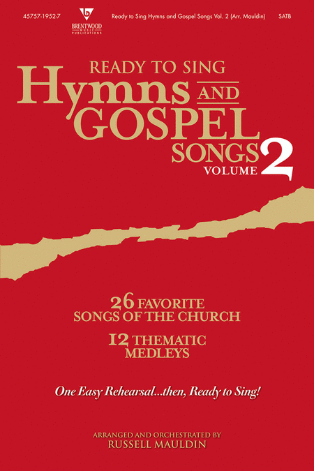 Ready To Sing Hymns and Gospel Songs, Volume 2 (CD Preview Pack)