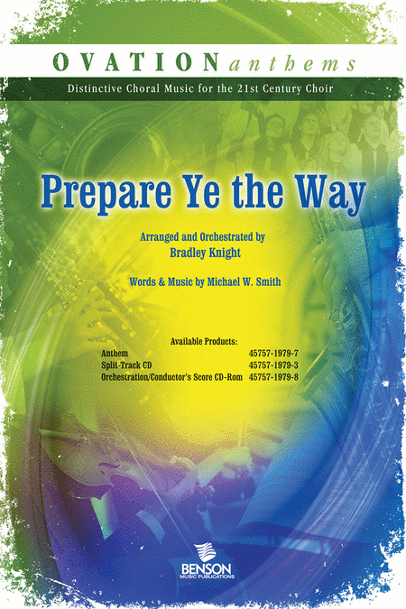 Prepare Ye The Way (Orchestra Parts and Conductor's Score CD-ROM)