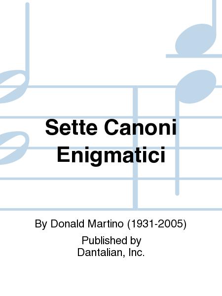 Sette Canoni Enigmatici