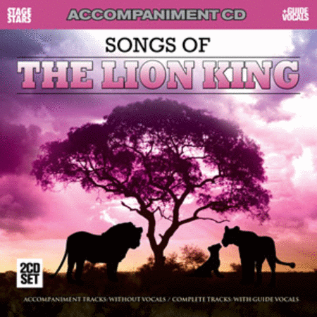Songs from the Lion King (Accompaniment/Karaoke CD)