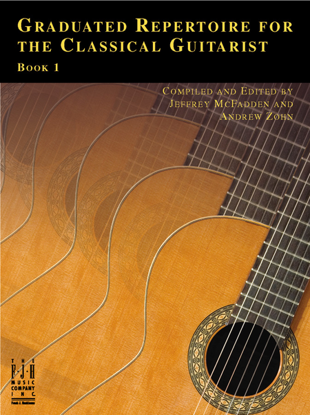 Graduated Repertoire for the Classical Guitarist, Book 1