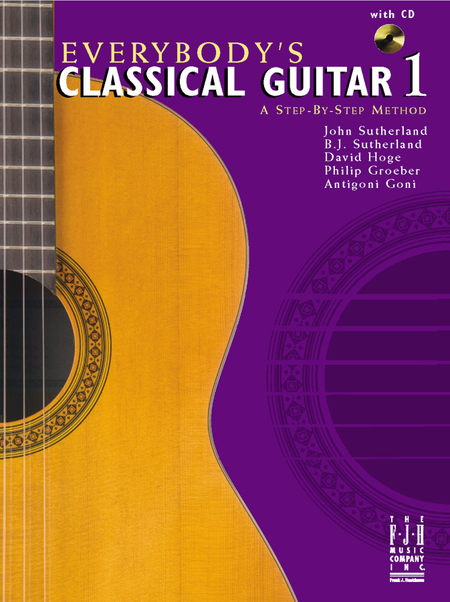 Everybody's Classical Guitar 1 A Step By Step Method (NFMC)