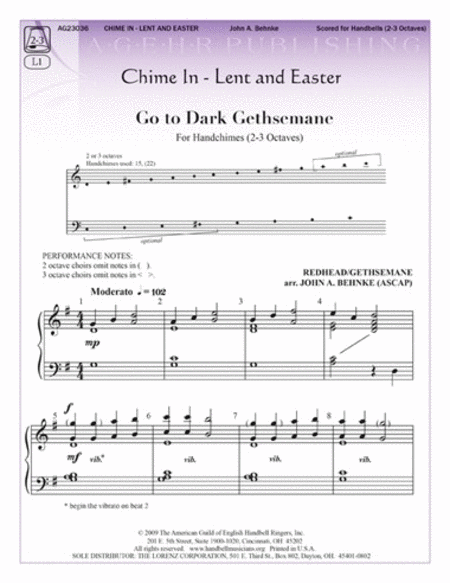 Chime In: Lent and Easter