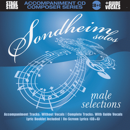 Sondheim Solos, Male Selections (accompaniment/karaoke CD)