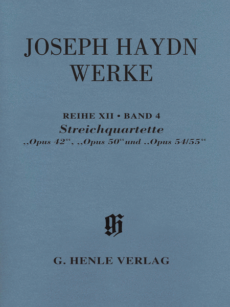 String Quartets, Opp. 42, 50, 54/55