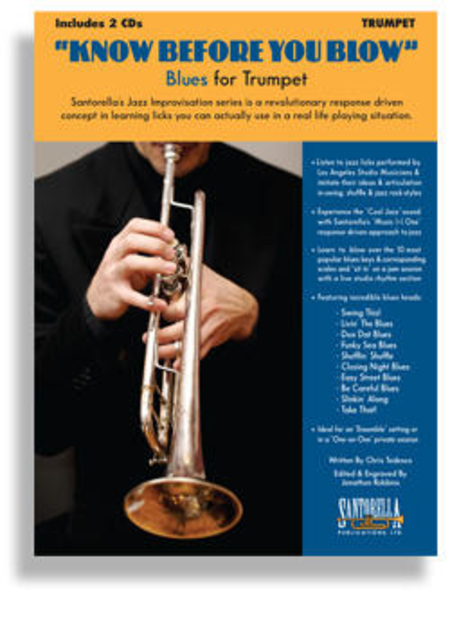 Know Before You Blow - Blues for Trumpet with 2 CDs