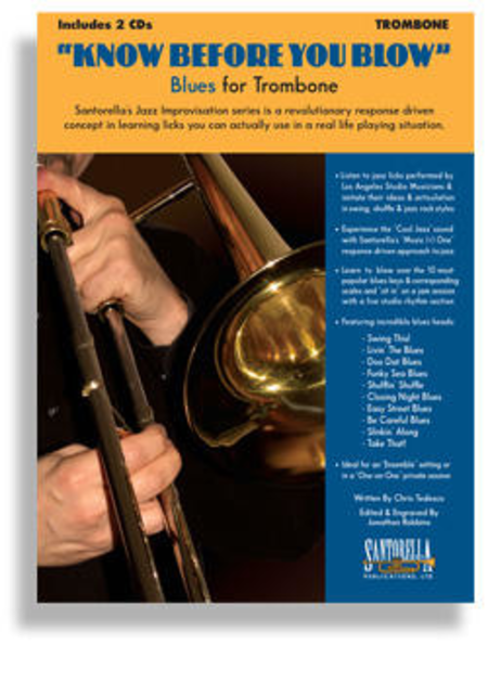 Know Before You Blow - Blues for Trombone with 2 CDs