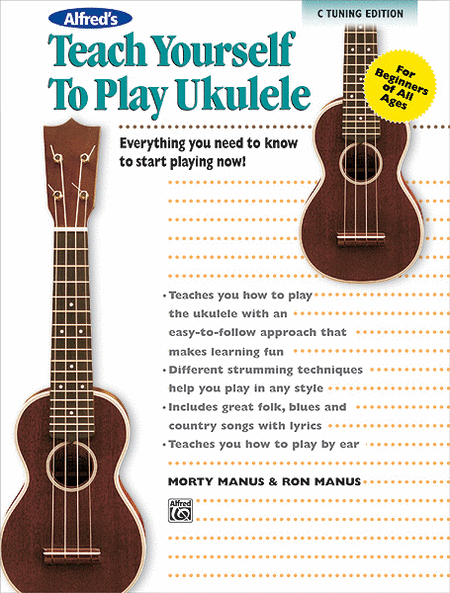 Alfred's Teach Yourself to Play Ukulele, C-Tuning