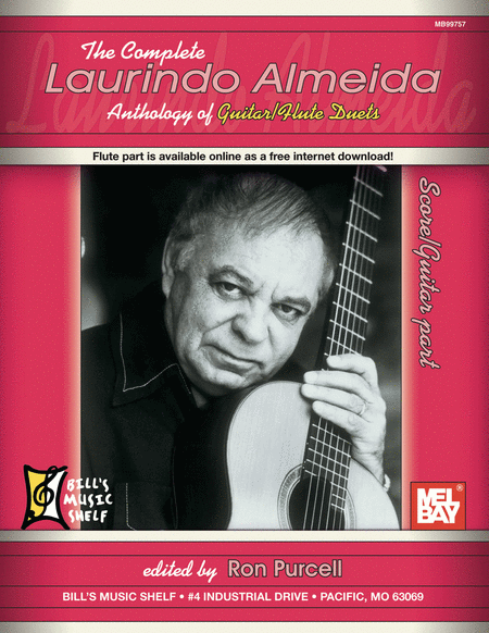 The Complete Laurindo Almeida Anthology of Guitar/Flute Duets