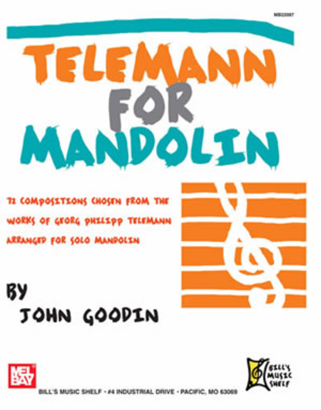 Telemann for Mandolin