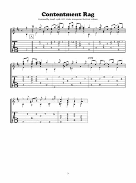 Classic Ragtime Guitar, Volume 1