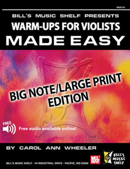 Warm Ups for the Violists Made Easy