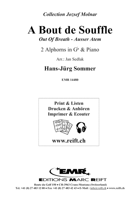 A Bout de Souffle (2 Alphorns in Gb)