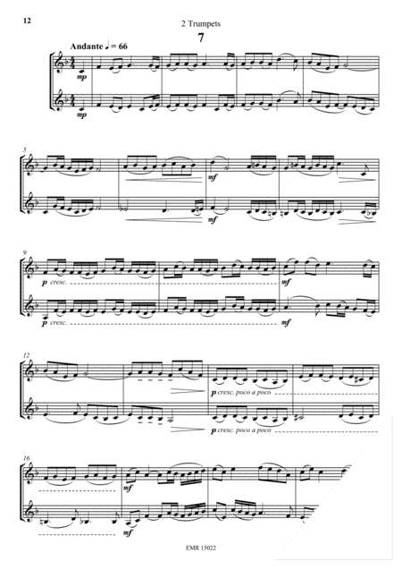 12 Duets in Style of Chopin