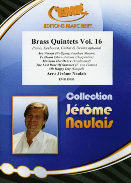 Brass Quintets Vol. 16