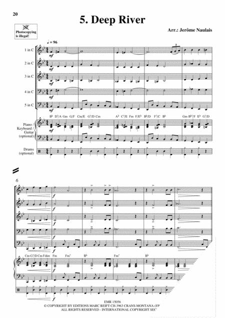 Brass Quintets Vol. 22