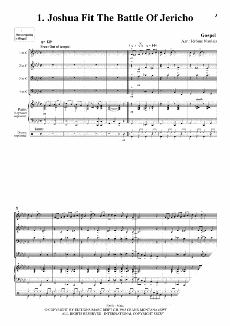 Brass Quartets Vol. 7