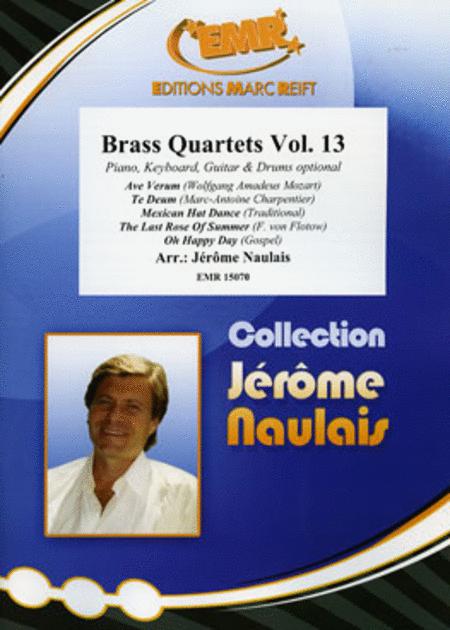 Brass Quartets Vol. 13