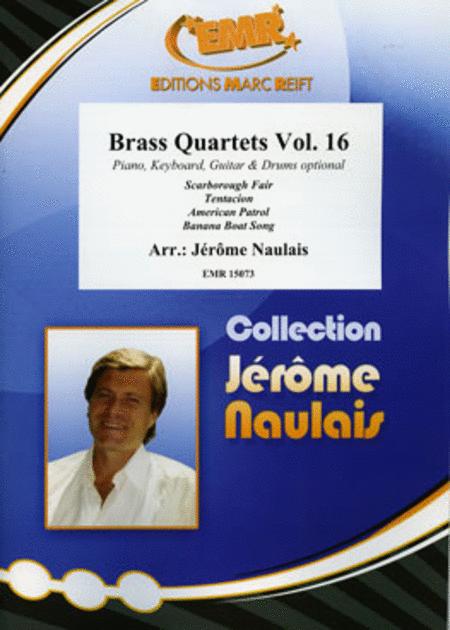 Brass Quartets Vol. 16
