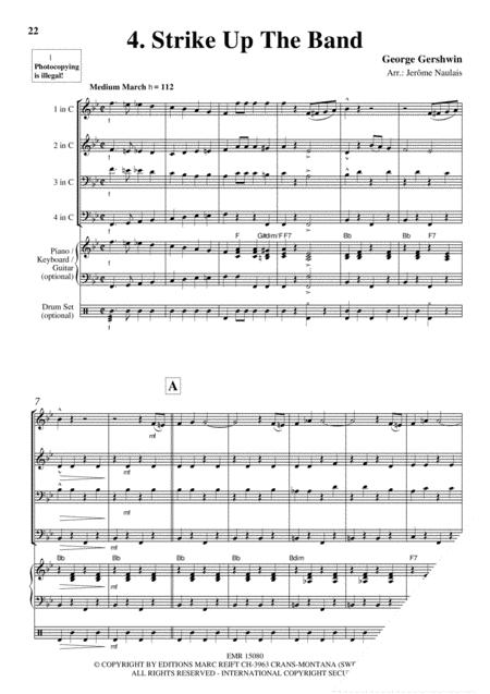 Brass Quartets Vol. 23