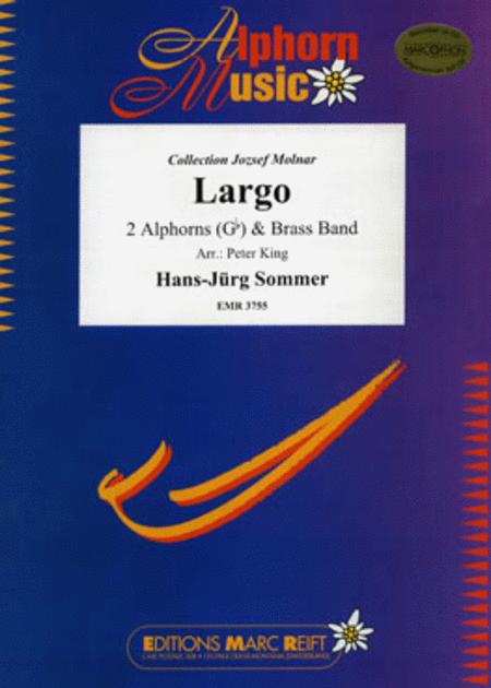 Largo (2 Alphorns in Gb Solo)