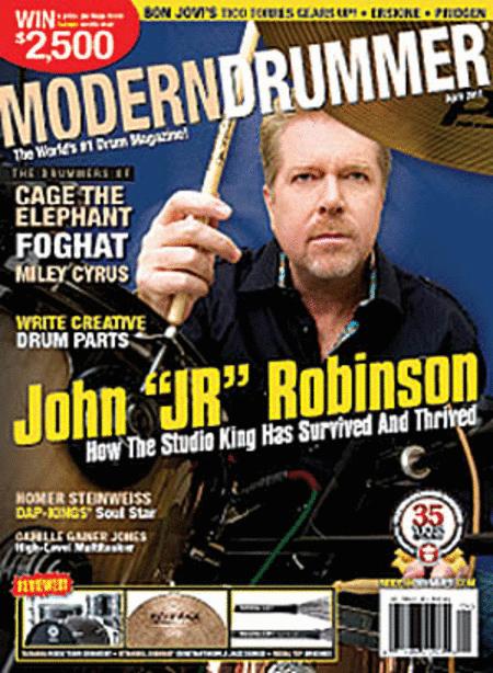 Modern Drummer Magazine - April 2011
