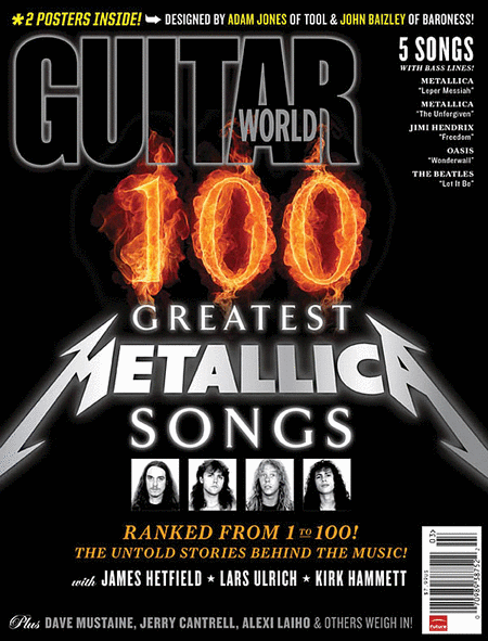 Guitar World Magazine Back Issue - March 2011