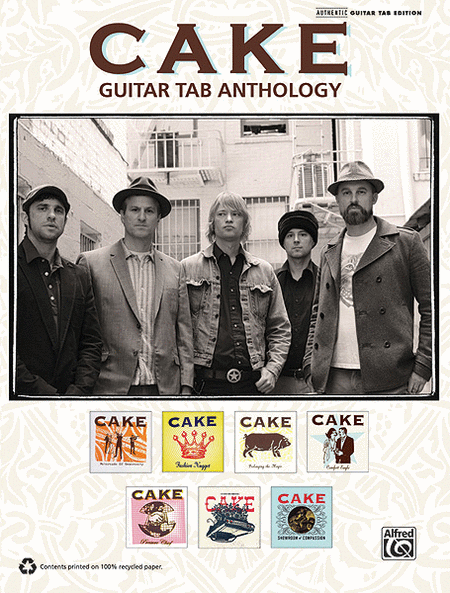 Cake -- Guitar TAB Anthology