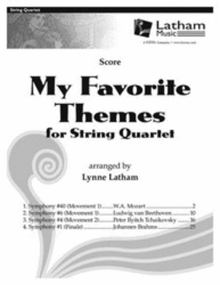 My Favorite Themes for String Quartet - Score