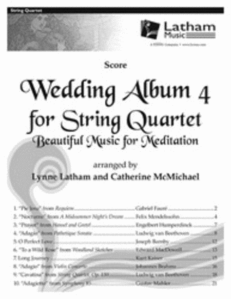 Wedding Album 4 for String Quartet