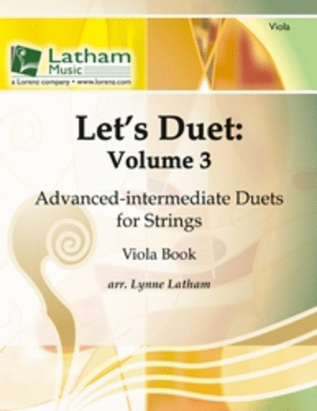 Let's Duet: Volume 3 - Viola Book