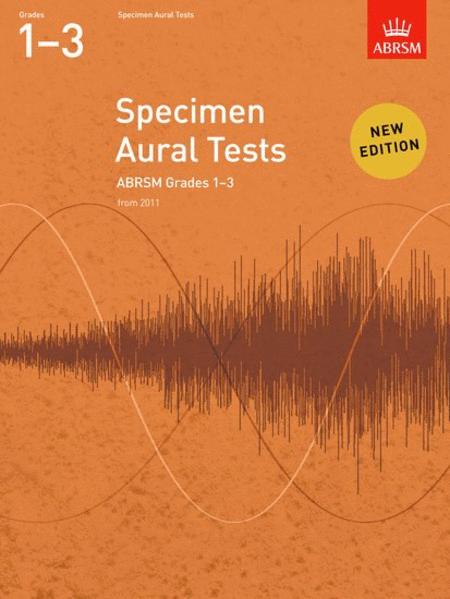 Specimen Aural Tests, Grades 1-3