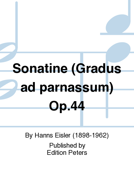 Sonatine (Gradus ad parnassum) Op. 44