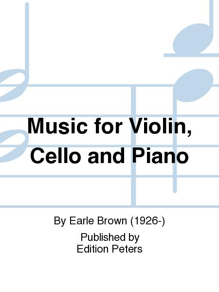 Music for Violin, Cello and Piano