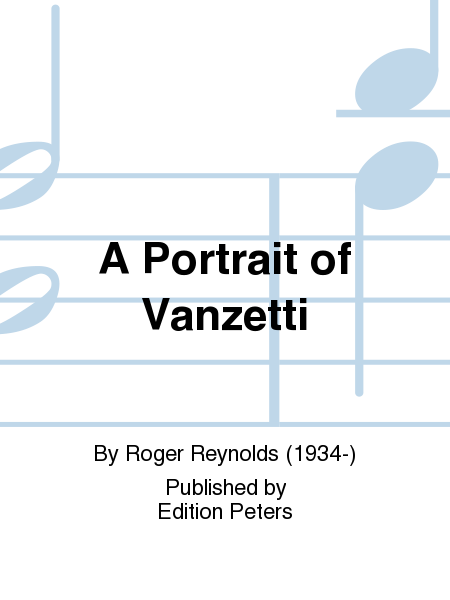 A Portrait of Vanzetti