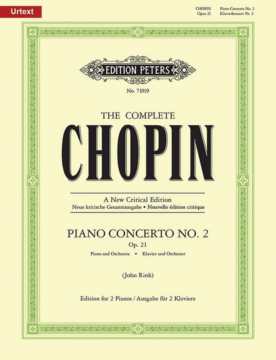 Piano Concerto No. 2 in F Minor Op. 21