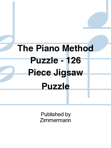 The Piano Method Puzzle - 126 Piece Jigsaw Puzzle