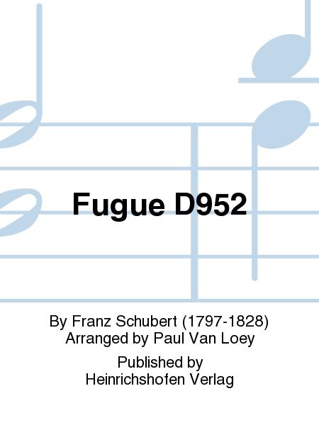 Fugue D952
