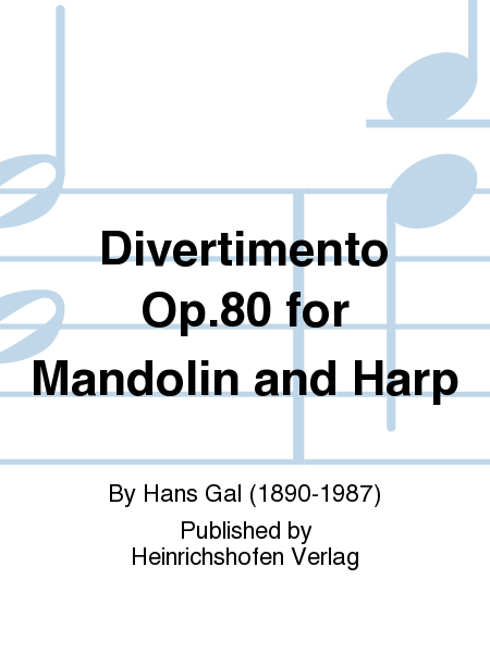 Divertimento Op.80 for Mandolin and Harp