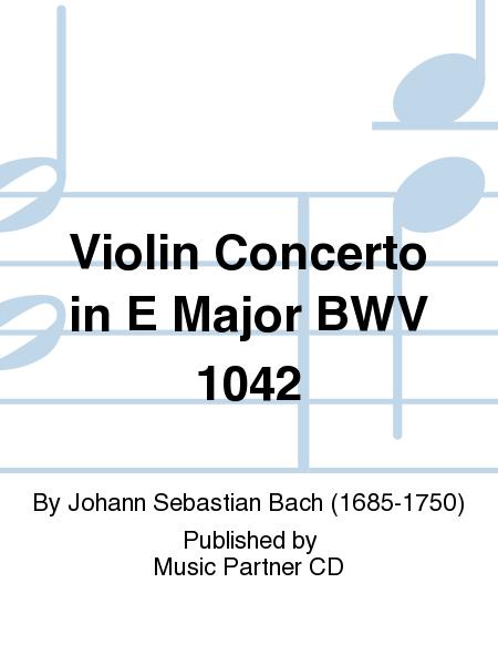 Violin Concerto in E Major BWV 1042
